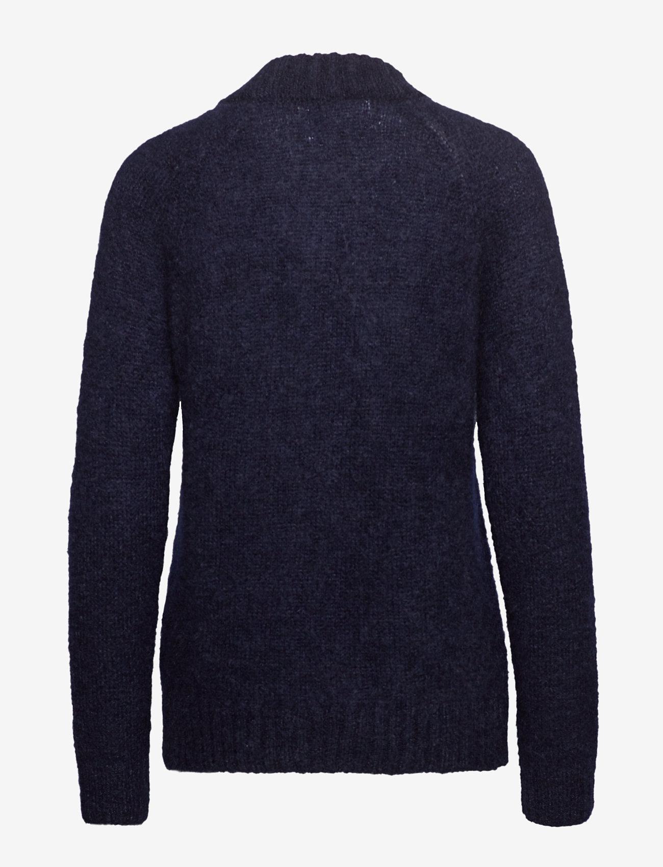 IBEN - Monty Sweater STG - neulepuserot - blue iris