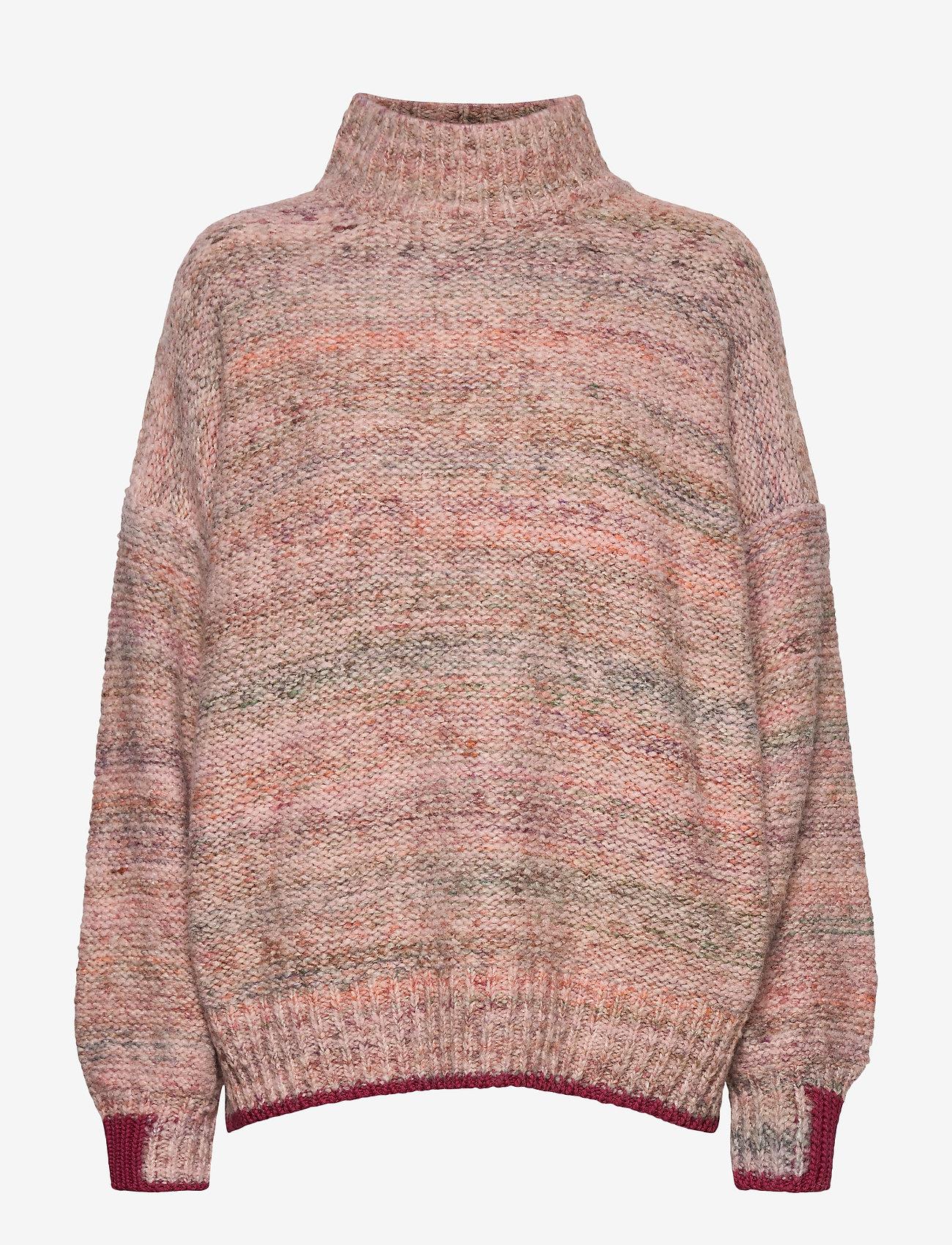 IBEN - Seth Sweater WP - turtlenecks - cream - 1