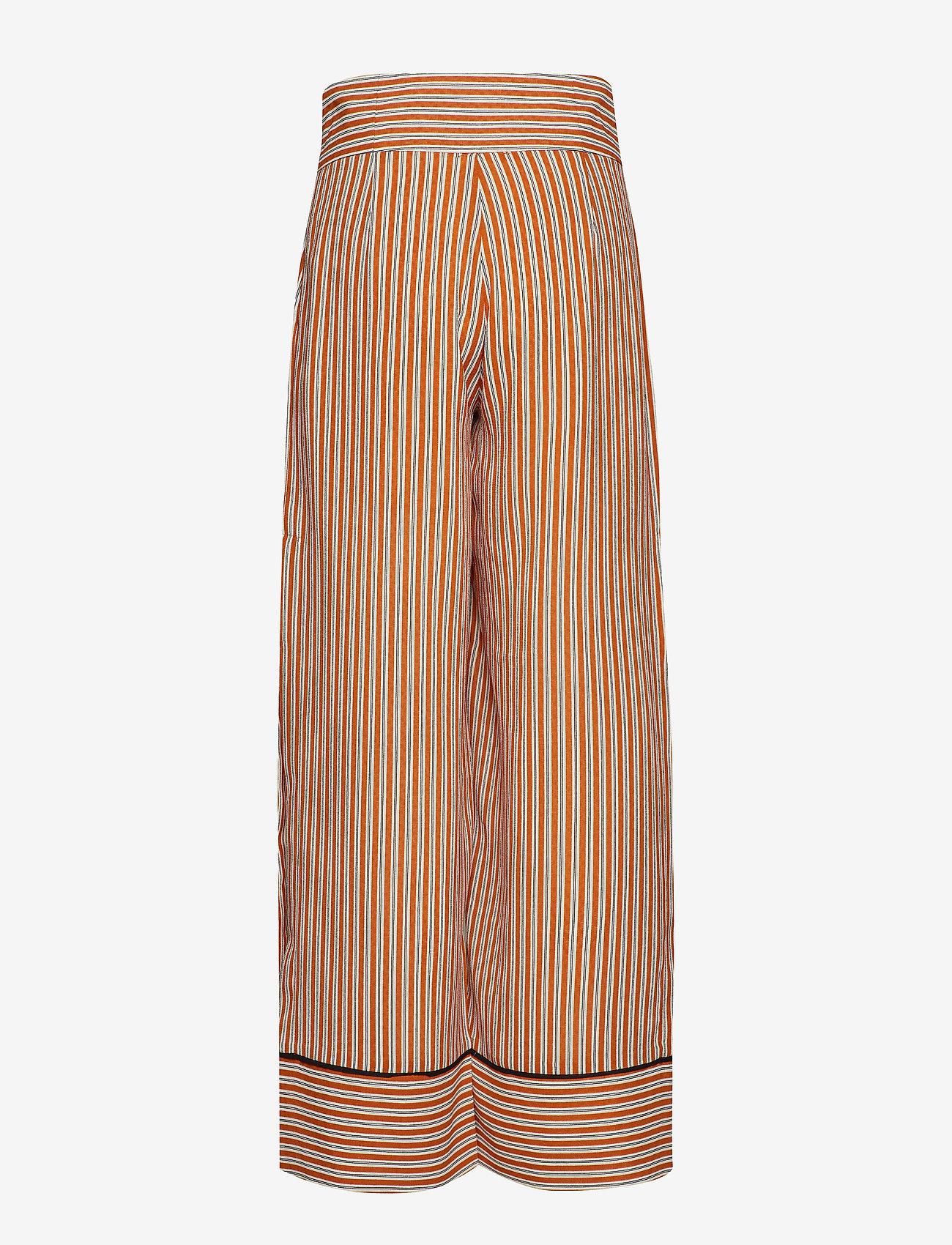 IBEN - Pat Pant - wide leg trousers - flame