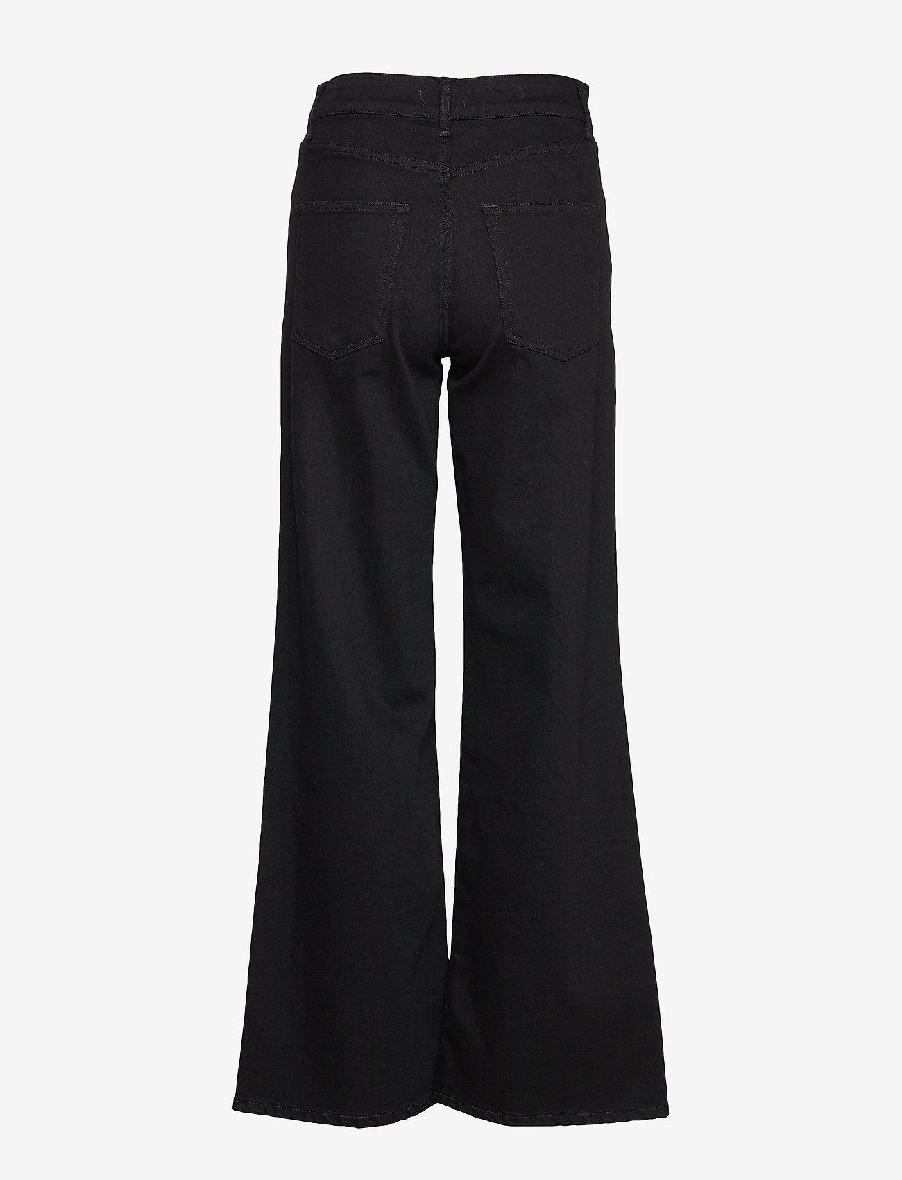IBEN - Reign Jean STG - broeken met wijde pijpen - washed black - 1