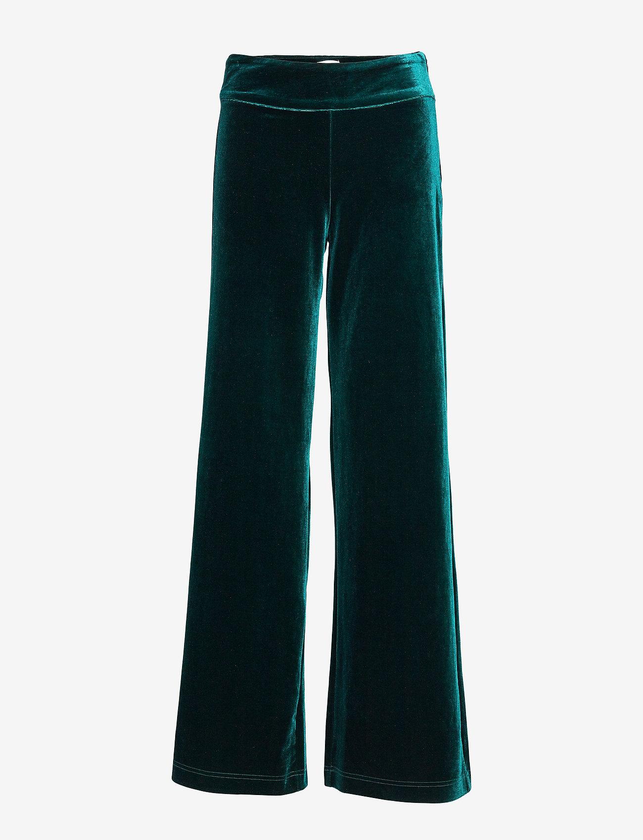 IBEN - Kobi Pant ST - uitlopende broeken - pine green - 0