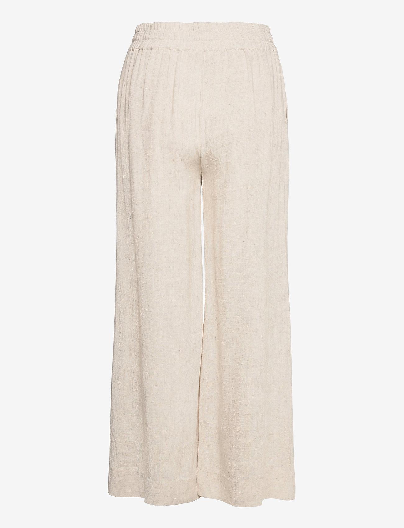 IBEN - Vincente Pant - bukser med brede ben - moonlight - 1