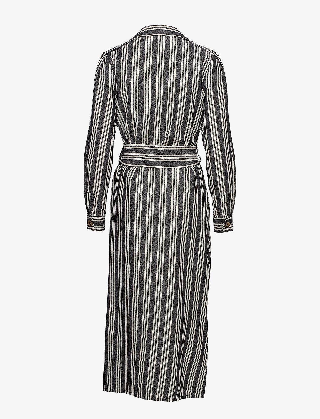 Olle Shirt Dress (Black) (150 €) - IBEN Ecbke