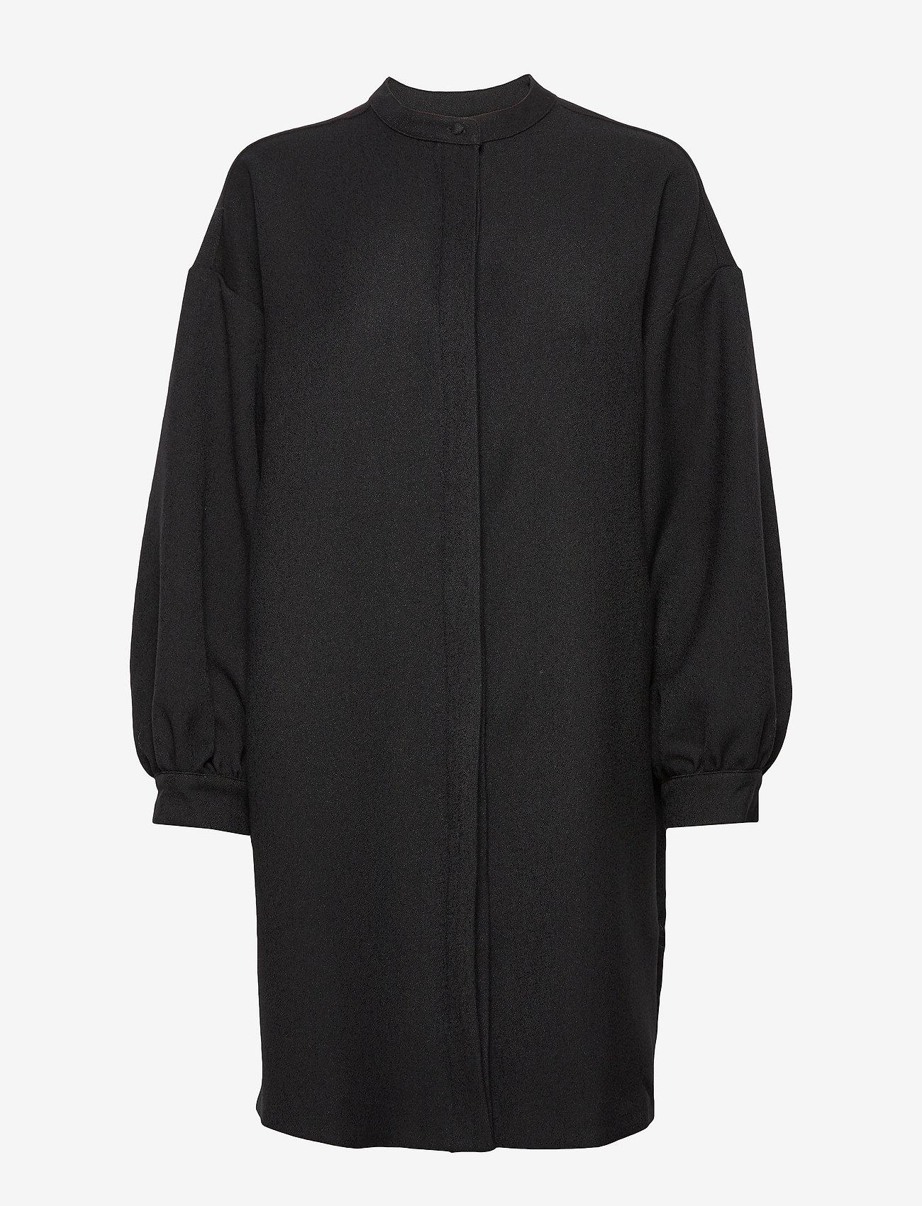 IBEN - Viggo Dress ST - blousejurken - black - 0
