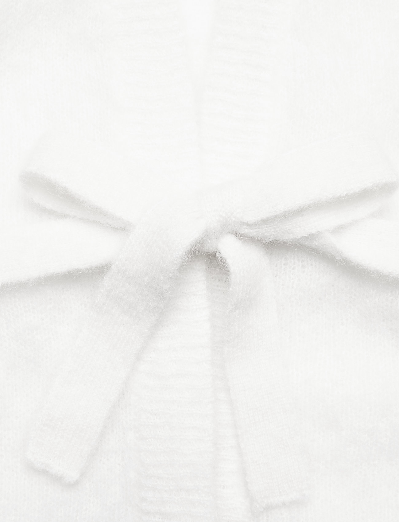 Iben Matti Cardigan - Stickat White