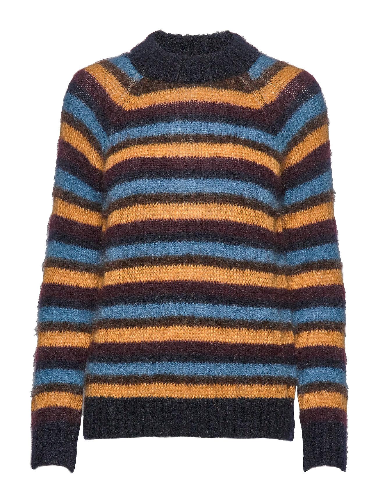 IBEN Marve Sweater STG - BLUE IRIS