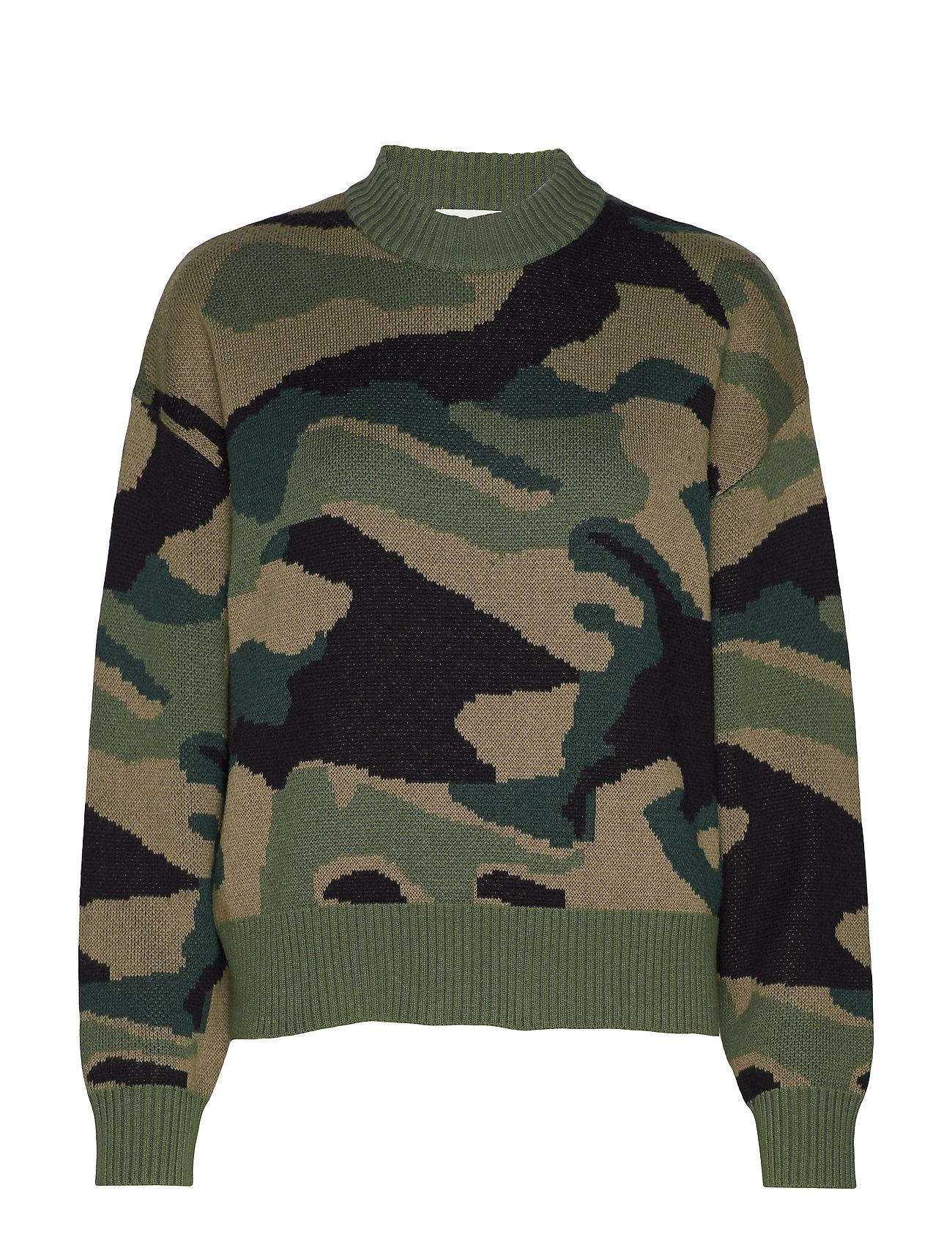 IBEN Camo Sweater ST - ARMY