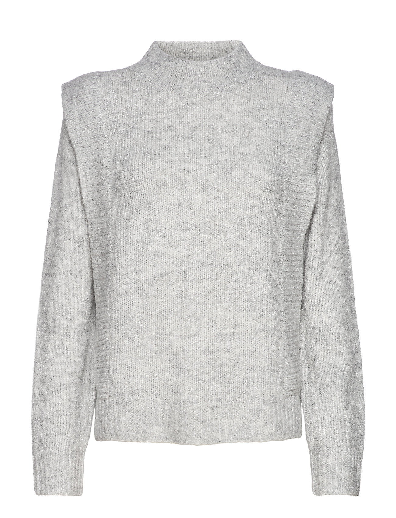 Image of Tuck Sweater Wp Strikket Trøje Grå IBEN (3484277721)
