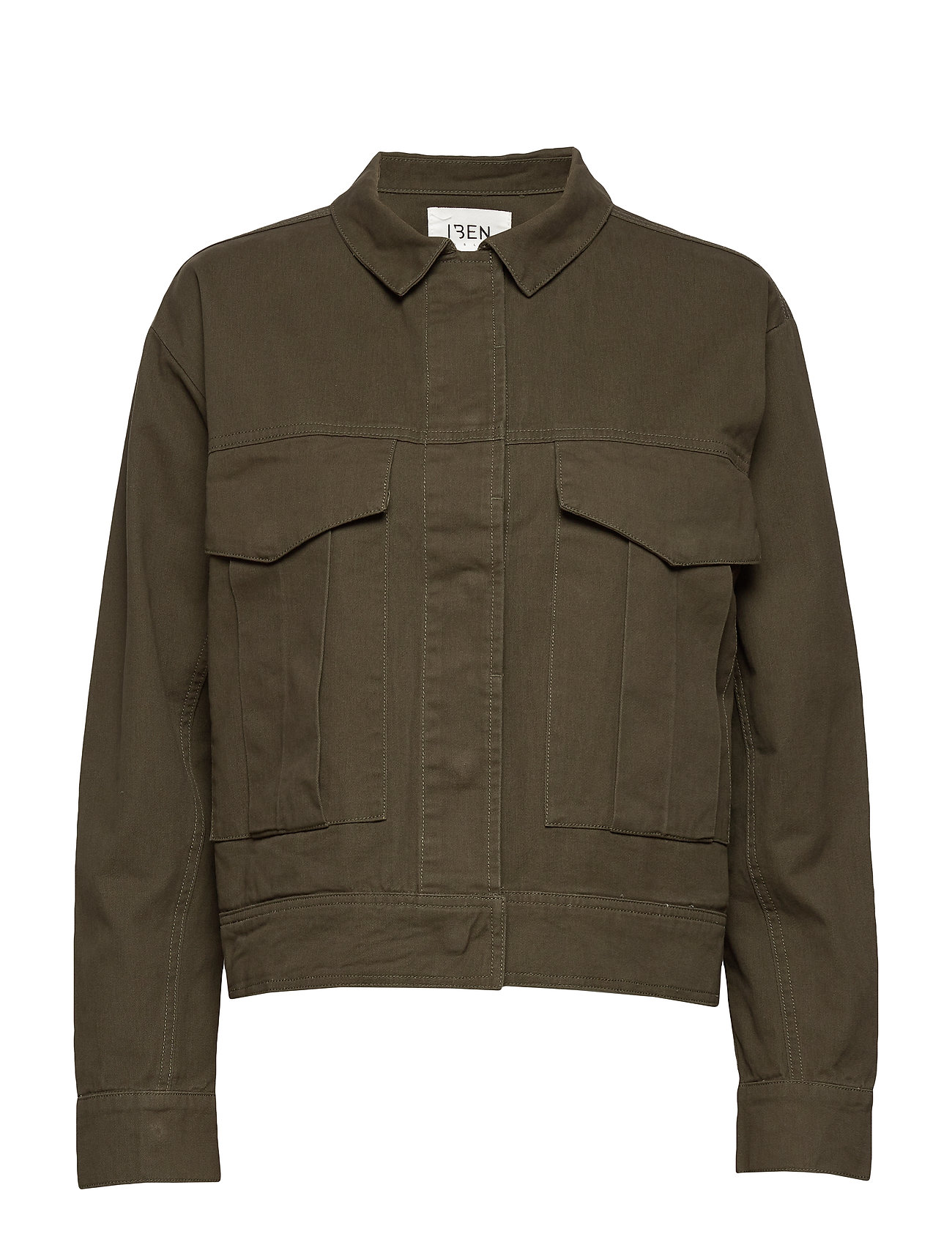 Image of Camilo Jacket Awn Outerwear Jackets Utility Jackets Grøn IBEN (3406268741)