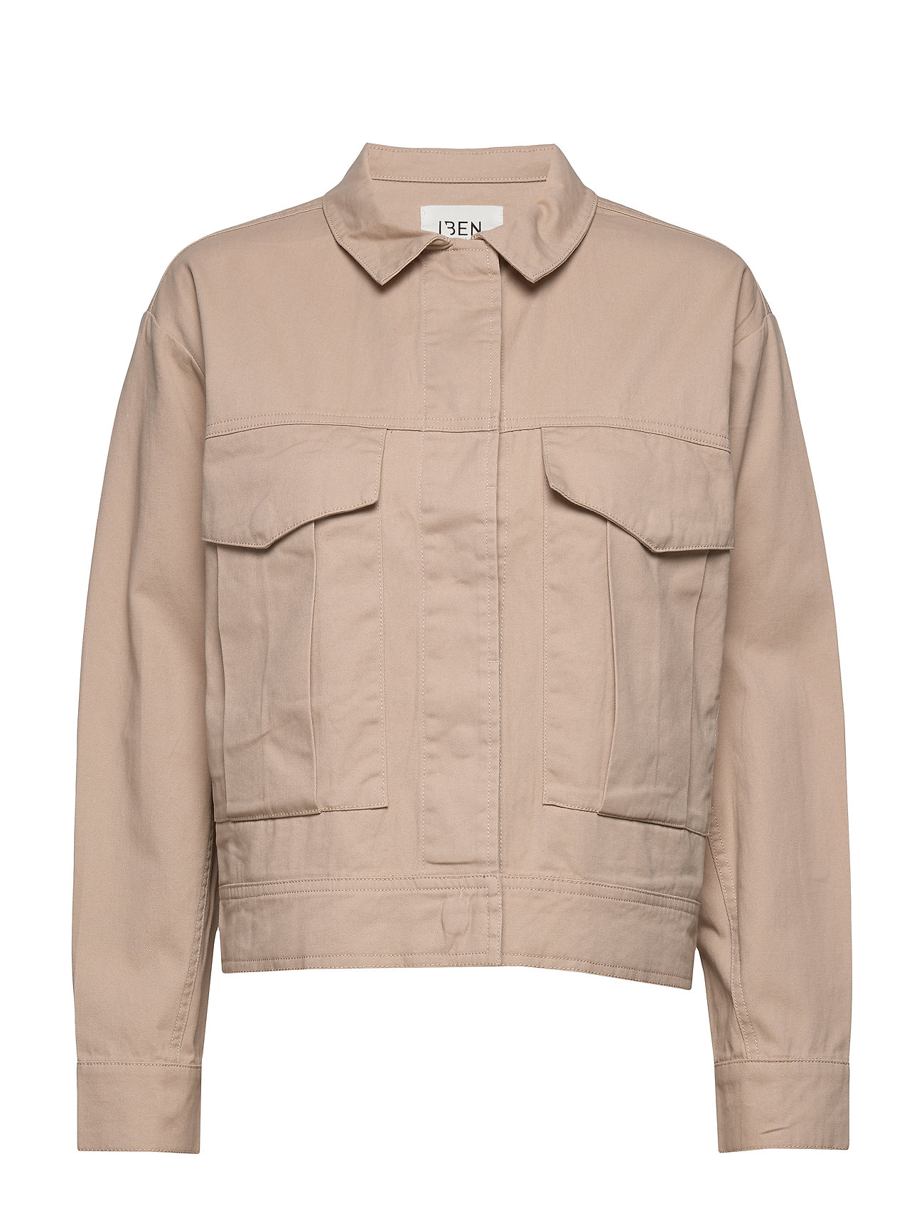 Image of Camilo Jacket Awn Outerwear Jackets Utility Jackets Beige IBEN (3406268745)