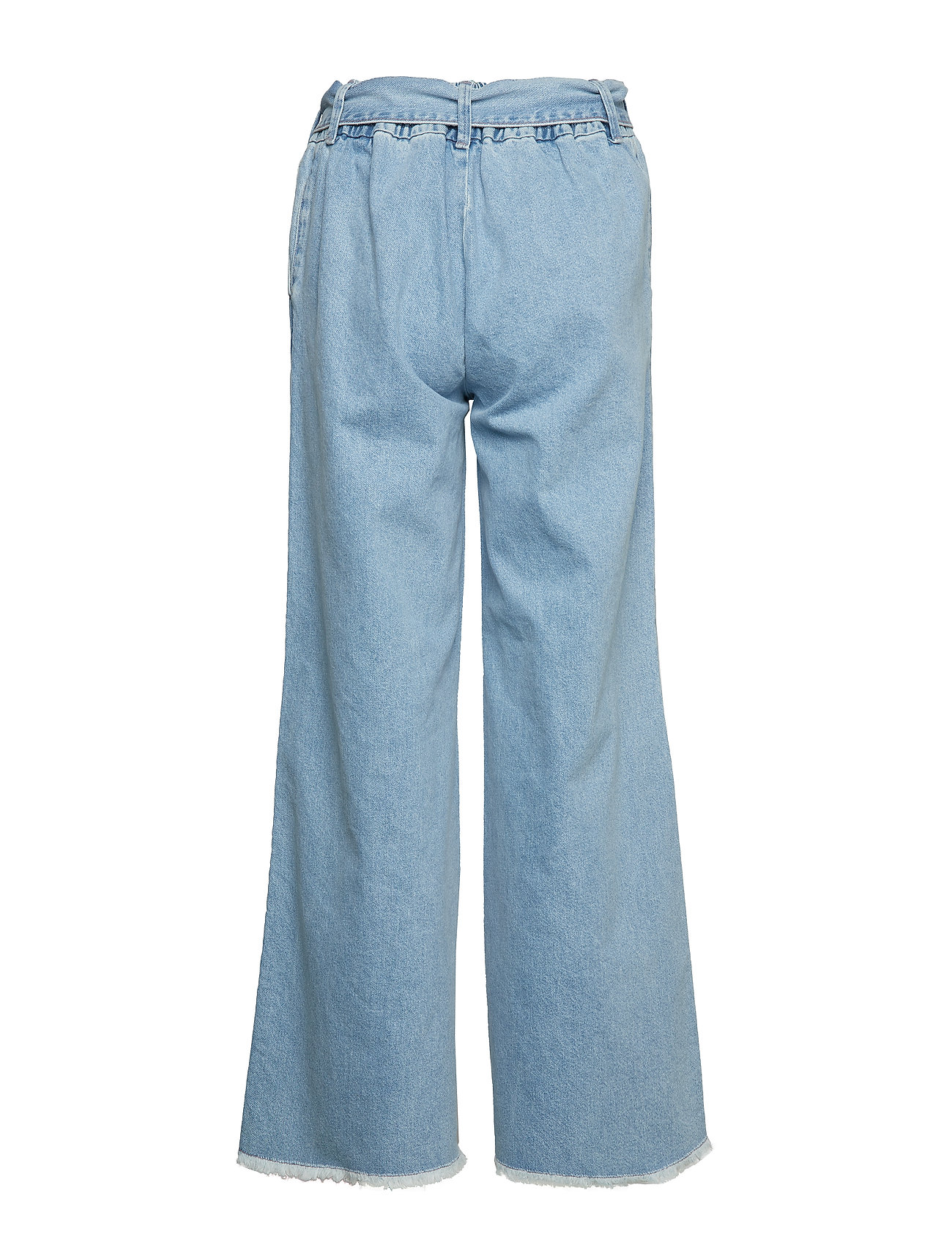 IBEN - Rove Pant - wide leg trousers - medium blue