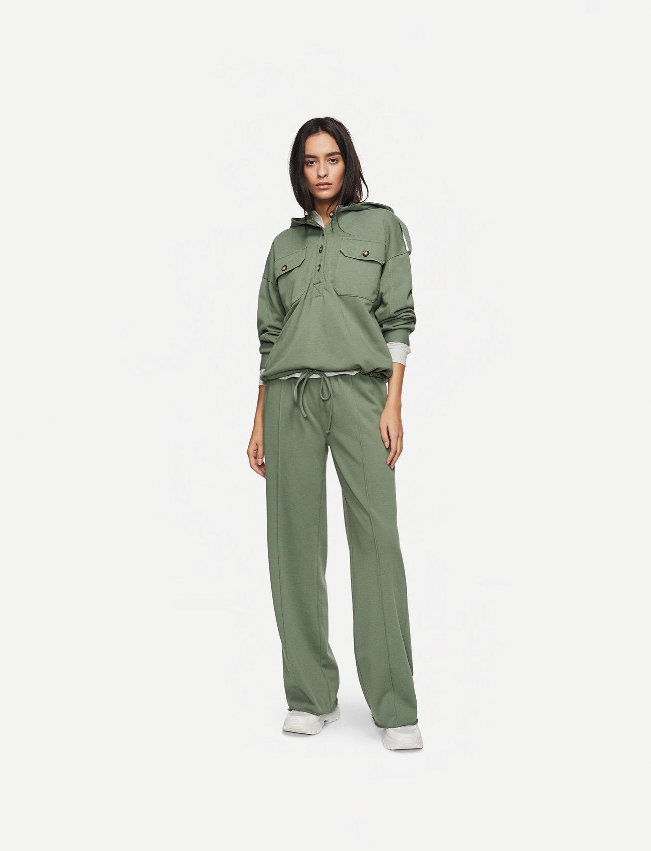 IBEN - Jayden Pant AWN - verryttelyhousut - myrtle green - 0