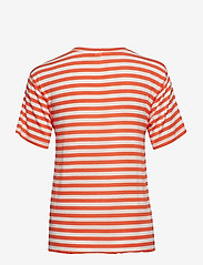 IBEN - Victor Tee - striped t-shirts - flame - 1