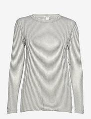 IBEN - Victor LS - long-sleeved tops - khaki - 0