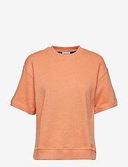 IBEN - Lenny Tee - basic t-shirts - coral - 0