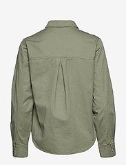 IBEN - Asher Shirt STG - pitkähihaiset paidat - ash green - 1