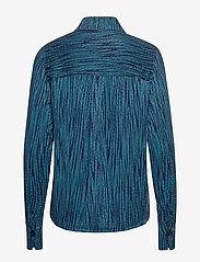 IBEN - Keon Shirt STG - pitkähihaiset puserot - blue iris - 2