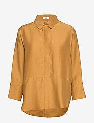 IBEN - Teon Shirt STG - pitkähihaiset paidat - spice - 0