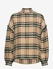 IBEN - Charles Shirt ST - blouses med lange mouwen - moonlight - 0