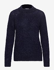 IBEN - Monty Sweater STG - neulepuserot - blue iris - 0