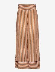 IBEN - Pat Pant - wide leg trousers - flame - 0