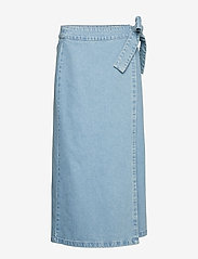 IBEN - Rove Skirt - denim skirts - medium blue - 0