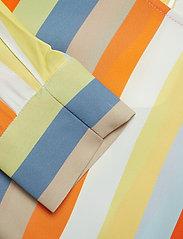 IBEN - Phoenix Top Stripe - long sleeved blouses - off white - 4