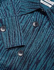 IBEN - Keon Shirt STG - pitkähihaiset puserot - blue iris - 3