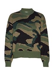 Camo Sweater ST - ARMY