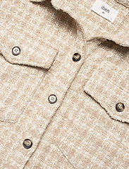 IBEN - Raw Shirt Jacket - overshirts - moonlight - 3