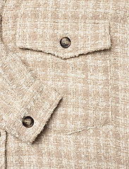 IBEN - Raw Shirt Jacket - overshirts - moonlight - 4