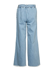 IBEN - Rove Pant - wide leg trousers - medium blue - 1