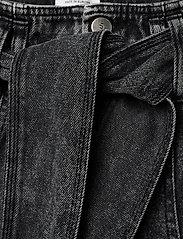 IBEN - Hayden Jean AN - szerokie dżinsy - washed black - 5
