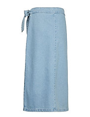 IBEN - Rove Skirt - denim skirts - medium blue - 1