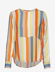 Phoenix Top Stripe - blouses à manches longues - off white