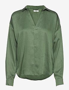 Nels Shirt STG - blouses à manches longues - forest