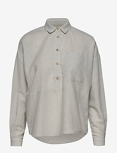 Wesley Shirt AWN - chemises à manches longues - ocean green
