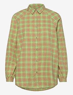 Caine Shirt WRP - overhemden met lange mouwen - moonlight