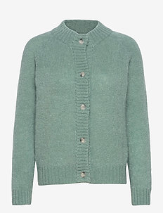 Monty Cardigan - gilets - chinois green