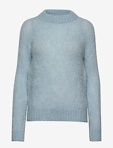 Monty Sweater AWN - swetry - blue surf