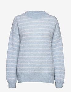 Albert Sweater AWN - pulls - blue surf