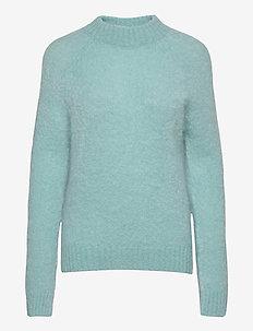 Monty Sweater WRP - gensere - kool-aid-blue