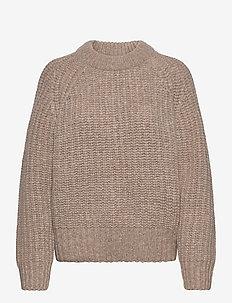 Myles Sweater WRP - gensere - moonlight