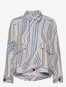 Talon Jacket AN - lichte jassen - white