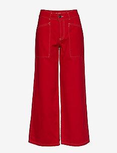 Loui Pant - pantalons larges - chili red