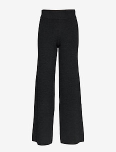 Mio Pant STG - pantalons larges - anthracite