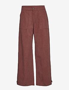 Thiago Pant AN - pantalons droits - red ochre