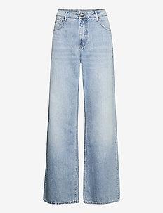 Reign Jean WP - brede jeans - l.blue