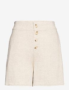 Albin Shorts - casual shorts - ecru