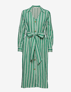 Olle Shirt Dress - shirt dresses - grass